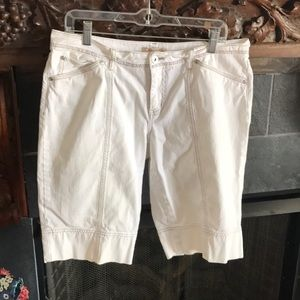 Cabi denim Bermuda Shorts